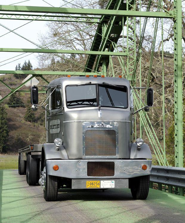 Image result for vintage Mack truck engine history
