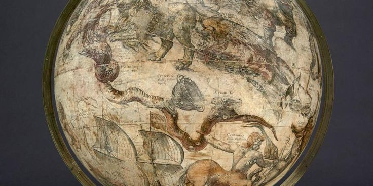 Celestial Globe made by the Dutch cartographer Willem Blaeu in 1603