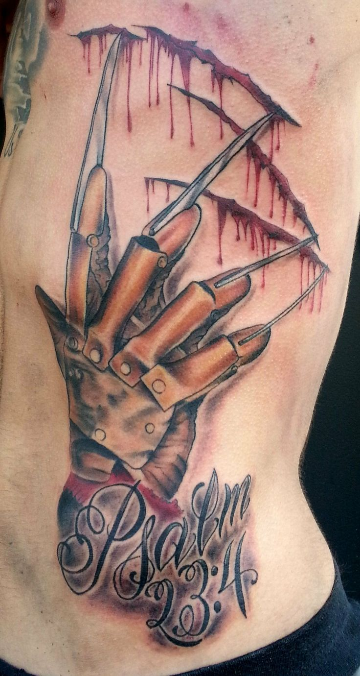 nightmare on elm street tattoos - Google Search