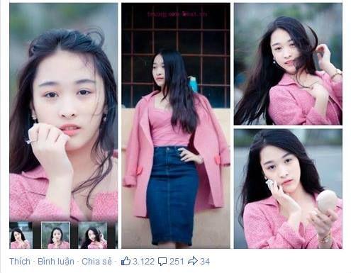 Mẫu ảnh 15 tuổi Vũ Khánh Ngọc đã khiến cho rất nhiều chàng trai phải bàn tán về mình nhờ vẻ đẹp tinh khôi, trong veo.