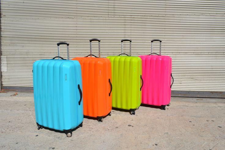 #NEÓN #FLÚO #VALIJAS #SUITCASE #baggage