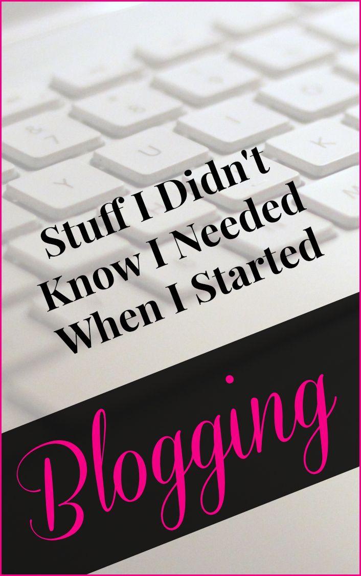 Stuff I Didn't Know I Needed When I Started Blogging #blogging #bloggingtips #humor | backeastblonde.com