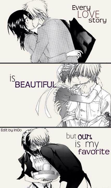"""""""Every Lovestory is beautiful, but ours is my favorite.❤"""" Kaichou wa maid sama - Takumi Usui & Misaki Ayuzawa  """"Jede Liebesgeschichte ist wundervoll, aber unsere ist mir Abstand meine Liebste"""""""