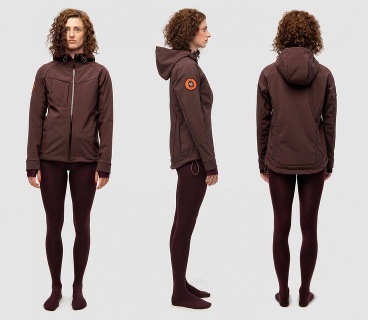 Gorilla Jacket - AUBERGINE - 2014 - Blind Chic.
