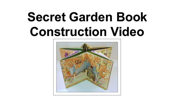 Secret Garden Book Construction Part 8- Optional Belly Band Closure