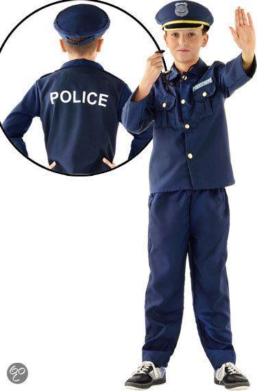 Politie - Kostuum - Maat M