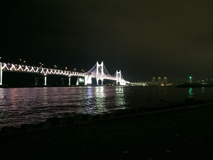 부산 광안대교. Busan Gwangan Bridge.