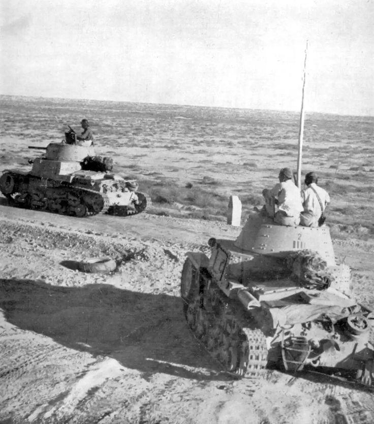 Italian M13/40 medium tank, North Africa, pin by Paolo Marzioli
