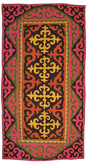 shyrdak felt rugs from feltrugs.co.uk