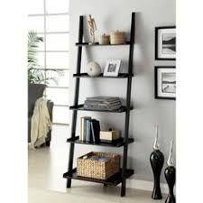 Image result for black ladder shelf