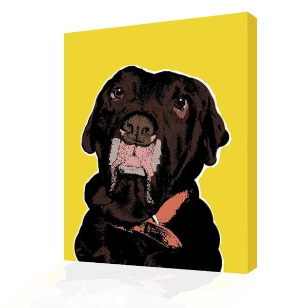 pop art from photograph warhol doggy  style