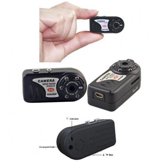 Mini Câmera Espiã Sem Fio Wireless e Preços | Câmeras de Segurança
