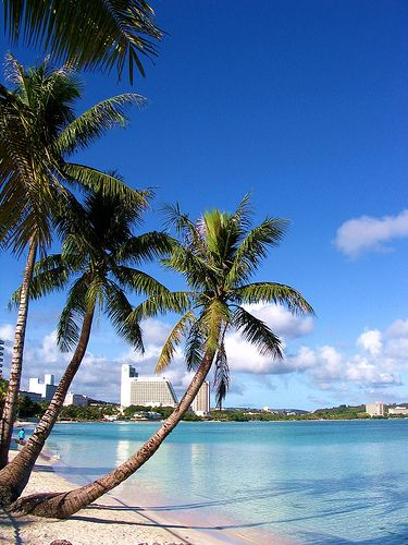 Tumon Bay, Guam♥ quite possibly my most favorite beach ever!