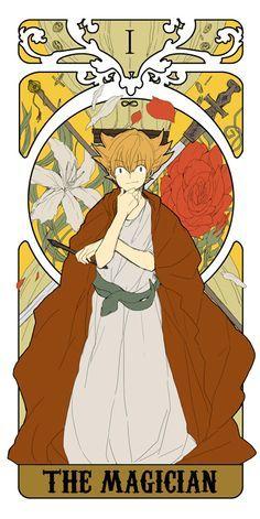 Risultati immagini per tarot cards inazuma