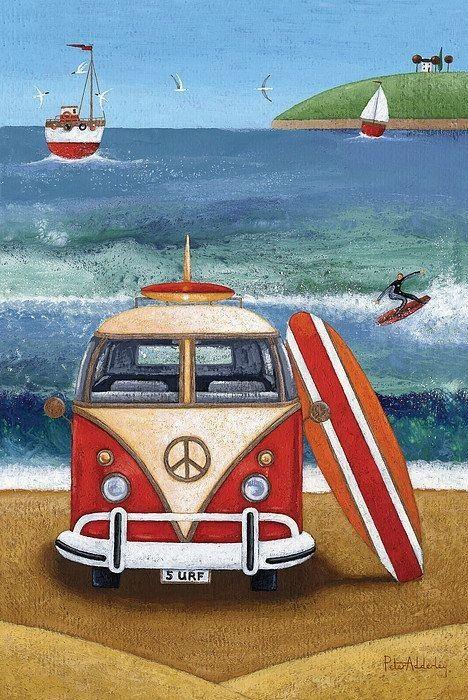Volkswagen Surfboard (Peter Adderley)