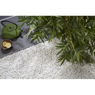 1000 id es propos de gravier blanc sur pinterest for Gravier marbre blanc prix