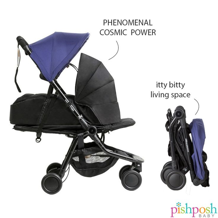"""We've always kinda had a crush on the Mountain Buggy Nano, but the 2016 version has us SERIOUSLY in love. There's now a lay-flat seat, with an option to add a soft-shell cocoon carrycot (sold separately), making this the perfect newborn travel stroller. And they've made it EVEN TINIER, with folded dimensions of 22"""" x 12"""" x 20"""", meeting carry-on luggage restrictions! Available in 3 colors.  http://www.pishposhbaby.com/mountain-buggy-nano-2016.html"""