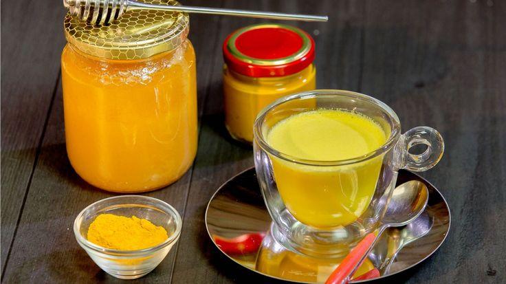 Latte d'Oro - Golden Milk e Proprietà della Curcuma