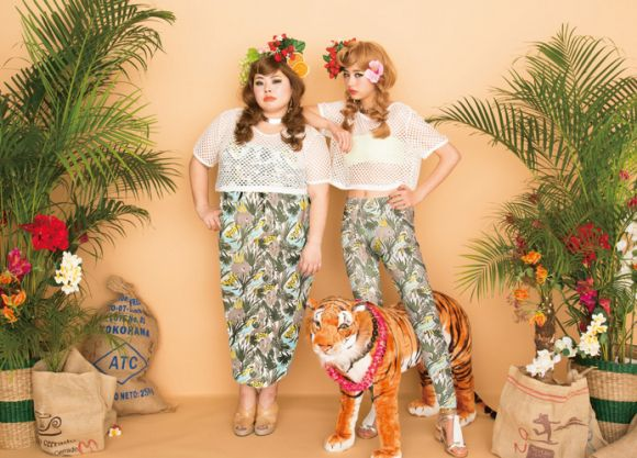 PUNYUS is a Japanese label from Naomi Watanabe, with clothes for all sizes