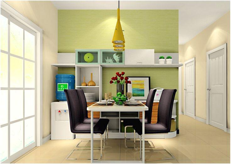 Desain ruang makan menyatu dapur minimalis mewah sederhana terbaru
