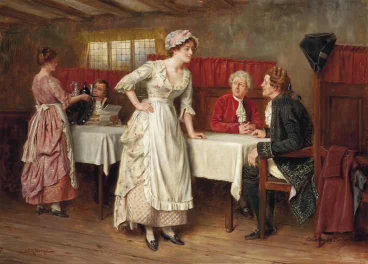 Английский художник -акварелист George Goodwin Kilburne