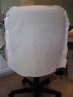 Office Chair cover tutorial                                                                                                                                                                                 More