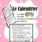 This package has EVERYTHING from writing the days of the week, months, and the date in FRENCH.  There is lots of clipart that make the activities a...