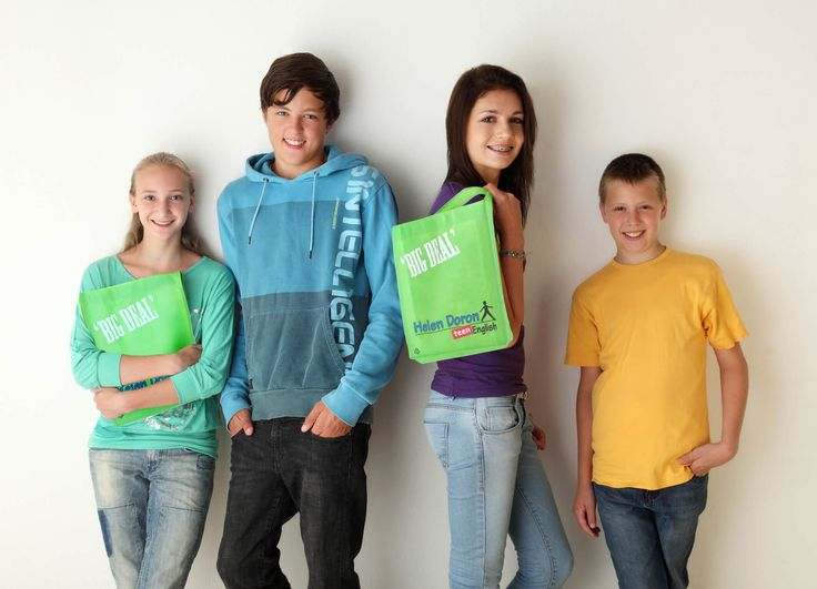 HDE Teen English backpack