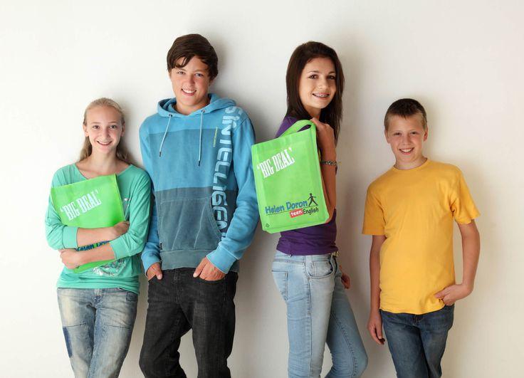 HDE Teen English backpack