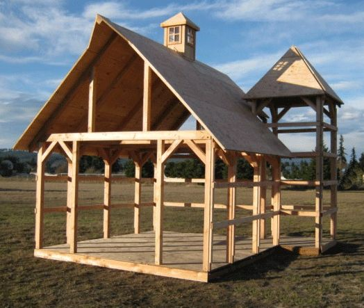 De 25 bedste id er inden for log home kits prices p for Cheap barn kits