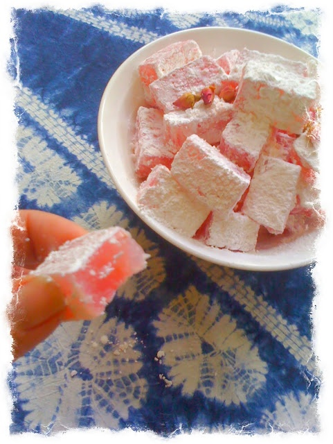 Rose Turkish Delights. I've been wanting to try these since reading the Chronicles of Narnia when I was growing up.