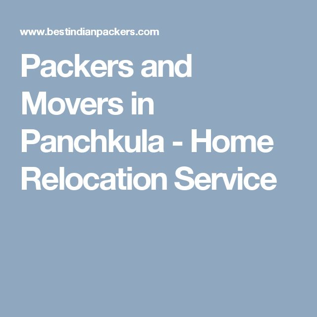 Packers and Movers in Panchkula - Home Relocation Service