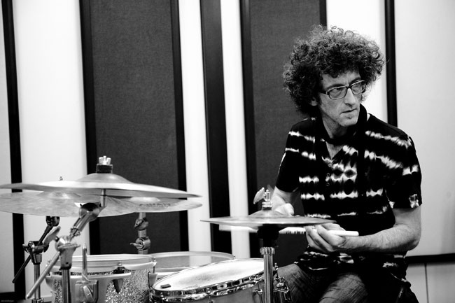 "Should we add him to our wishlist? --Jojo Mayer, drummer. Hero to many. Swiss-born mad scientist with impressive technical skill and seriously psychedelic style. Innovator, collaborator, pioneer of ""reverse engineering""."