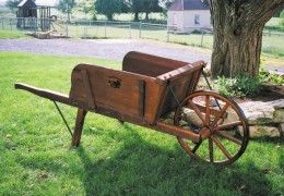 Reproduction Wooden Wheelbarrows