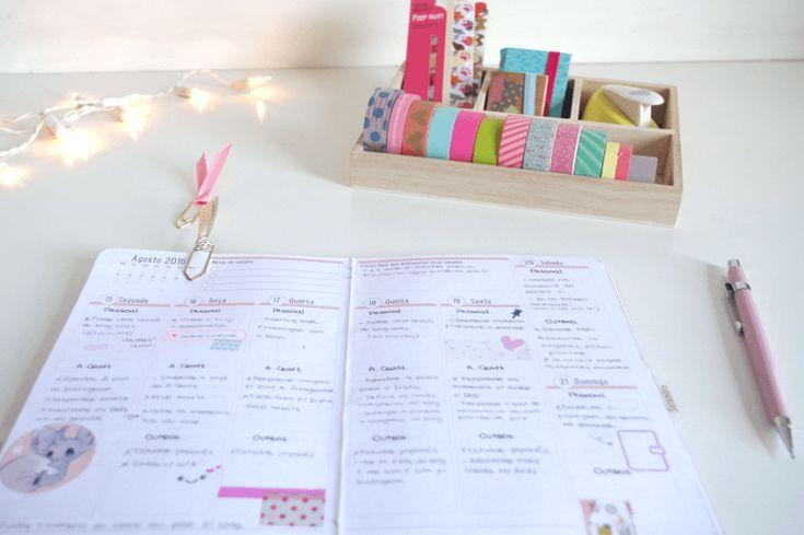 Como usar o planner para se organizar: dicas para iniciantes