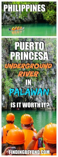 The Puerto Princesa Underground River In Palawan, Philippines, is one of the New7Wonders of Nature, but is it worth it? Check out our tour timeline and opinion. | Palawan Highlights | Best of Palawan | Why visit Palawan | Philippines on a Budget | Best of Palawan | Puerto Princesa Tours | Underground River Tours | Highlights of the Philippines | Philippine Tours