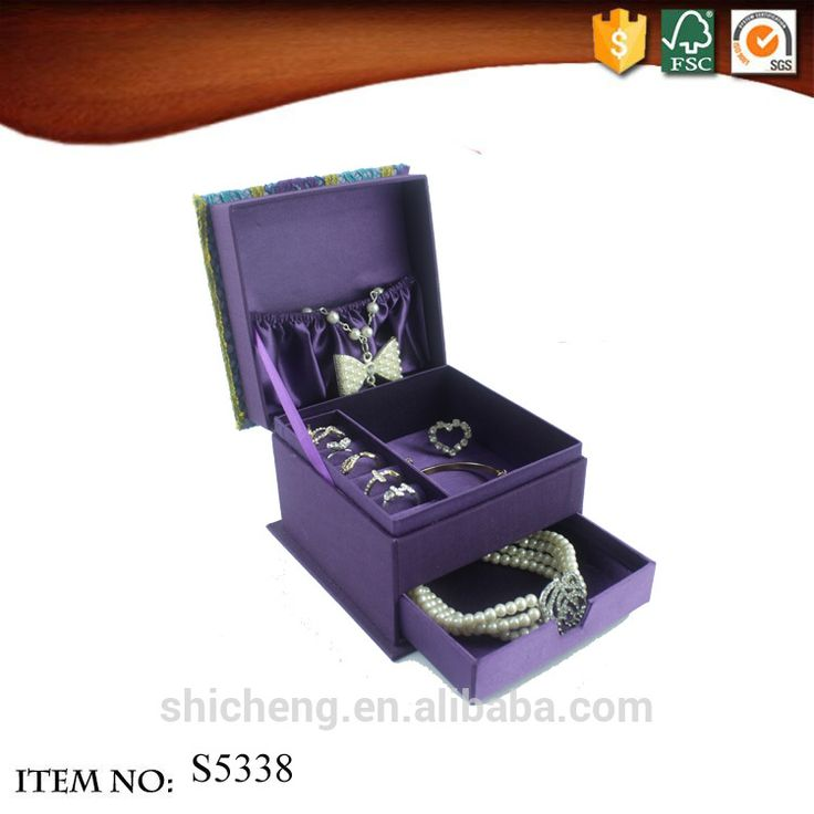 The most popular jewelry boxes wholesale ring case