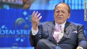 "[""For Adelson, Koch brothers, buying a politician is good business""]"