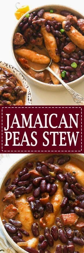 jamaican stew peas this cozy jamaican stew is made using