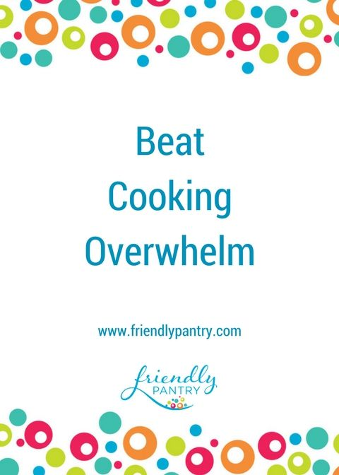 We all go through seasons when we're so busy we can't keep up.  Check out this post for food allergy friendly cooking help, cooking ideas, and food allergy recipes so we can get through those difficult times. www.friendlypantry.com