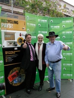 reverse vending machine launch