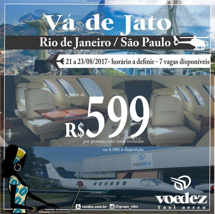 Vá de Jato - Preços imperdíveis para lugares incríveis! #saidoautomatico #vadejato #passagensaereas #com #preco #de #comercial #voedez #rj #sp #taxiaereo #fretamento