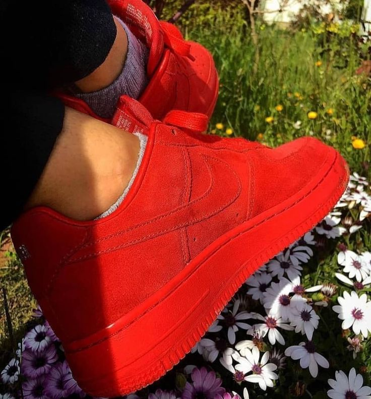 Pin by brian lucero on Air Force 1 Red nike shoes