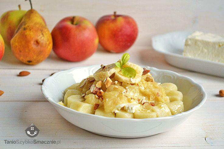 Sos z gruszek, jabłek i bananów do kopytek_01a