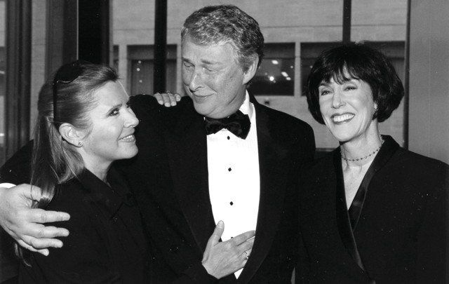 Carrie Fisher, Mike Nichols, Nora Ephron