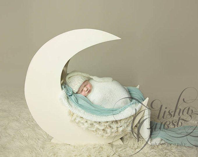 Luna foto hélice - Prop de la fotografía de recién nacidos