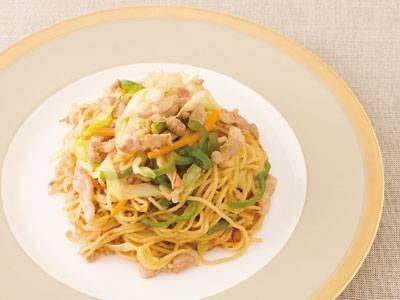 塩焼きそばレシピ 講師は菰田 欣也さん 使える料理レシピ集 みんなのきょうの料理 NHKエデュケーショナル