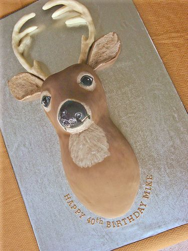 Deer Cake by springlakecake, via Flickr