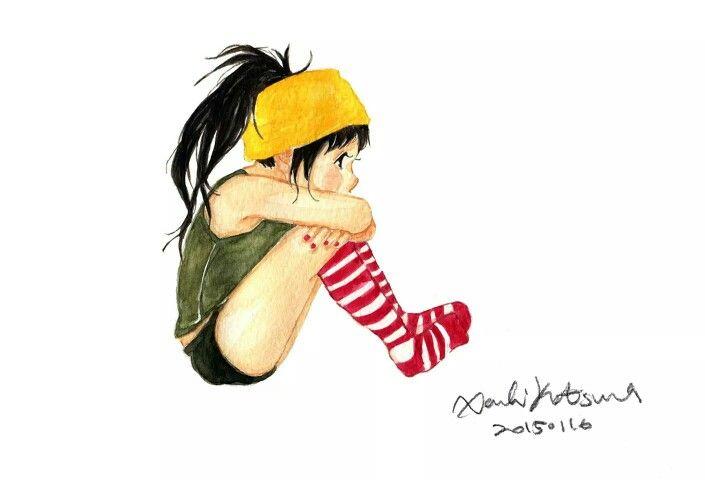 Xanbi Katsura Watercolor