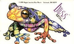 For those who have wondered what my frog tattoo is SUPPOSED to look like (when finished)